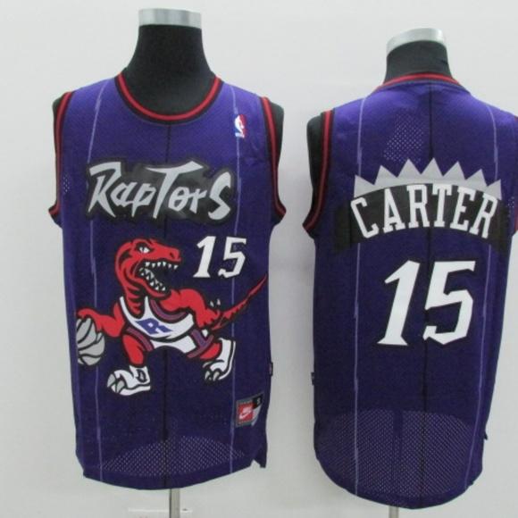 2ad2b42e1 Tracy McGrady Toronto Raptors  15 Throwback Purple